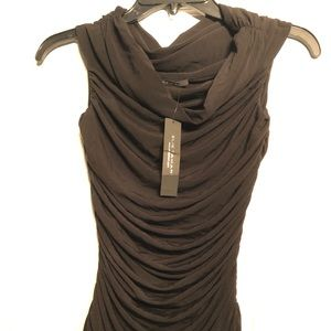 Elie Tahari ruched sleeveless shirt size Xs